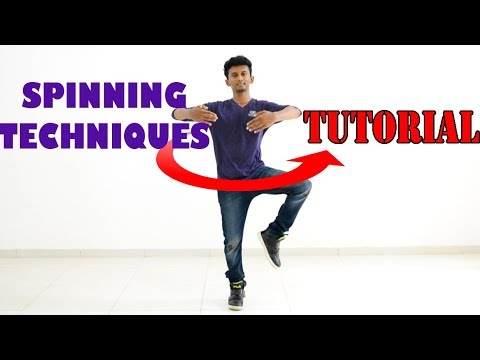 How To Spin Effectively!?    Spinning Technique Tutorial    Nishant Nair
