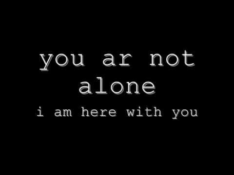 Michael Jackson You Are Not Alone Lyrics Youtube