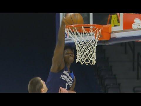 Anthony Edwards Huge Slam! Jokic 35 Pts vs T-Wolves! 2020-21 NBA Season