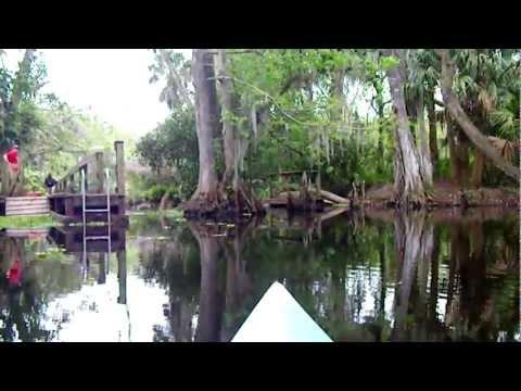 www.kayakingloon.com First Dam Loxatchee River