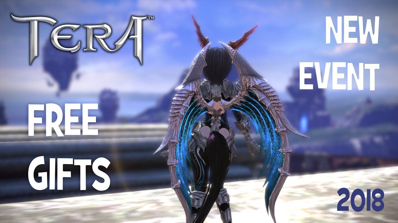 TERA • Free gifts • Event • 2018
