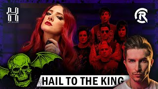 Avenged Sevenfold - Hail To The King - Cover by @Halocene ft. @Cole Rolland
