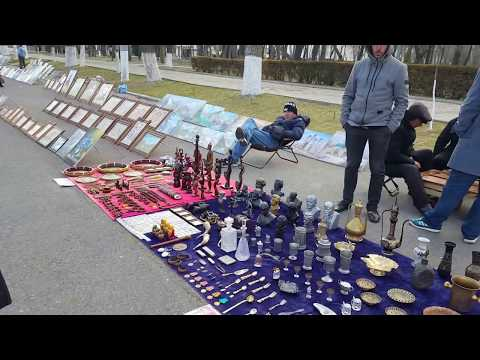 Tashkent Street View -Uzbekistan -4 March 2017 (1080p60 HD)