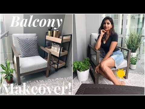 EXTREME Balcony MAKEOVER!!!! Cozy, Comfy Transformation!