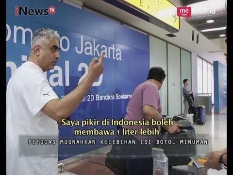 WNA Ini Sedikit Marah Ketika Petugas Memusnahkan Kelebihan Minuman Part 01 - Indonesia Border 03/07