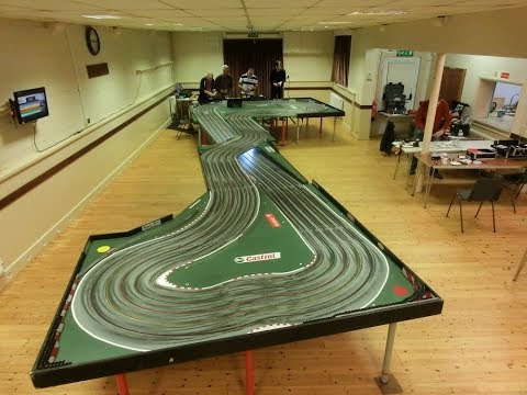 On board at the East Devon Slot Racing Club