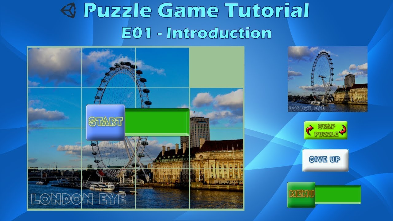 How to make a Puzzle Game (E01) - Unity Tutorial - YouTube