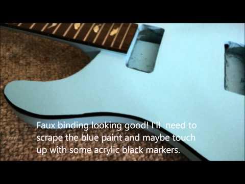 DIY PRS guitar kit makeover (part 1) - YouTube