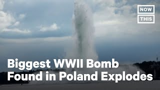 WWII Bomb Explodes During Attempt to Defuse It | NowThis