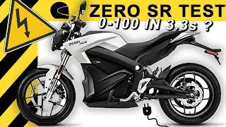 0-100 in 3,3s? ZERO SR E-Motorrad TEST | Schnellstes Elektro-Motorrad 2018?