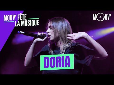 Youtube: DORIA:«Pochtar (Dodo)»,«Calcul»,«Tempo» (Concert Mouv' fête la musique)
