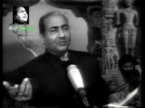 Suhani Raat Dhal Chuki - Mohammad Rafi Live With Naushad