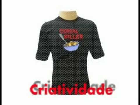Camisetas engraçadas, criativas e personalizadas
