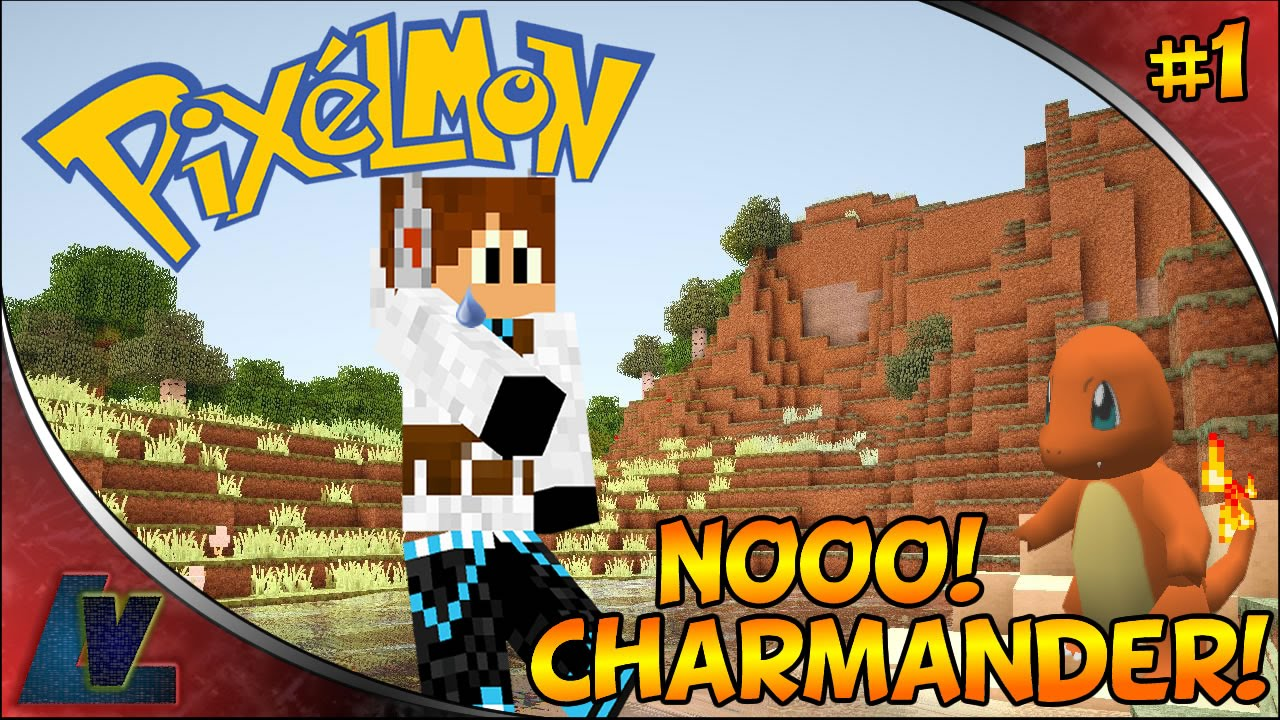 Minecraft pixelmon nooo charmander ep 1 youtube - Pixelmon ep 1 charmander ...