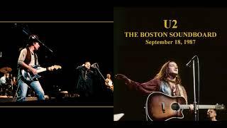 U2 - The Joshua Tree Tour - THE BOSTON SOUNDBOARD (1987/09/18)