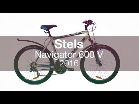 Горный велосипед Stels Navigator 600 V 2016.  Обзор