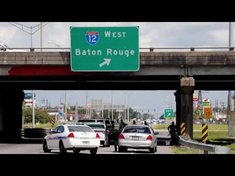 'Shots fired, officer down!' - chilling audio from Baton Rouge police radio