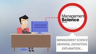 What Is MANAGEMENT SCIENCE? MANAGEMENT SCIENCE Definition & Meaning