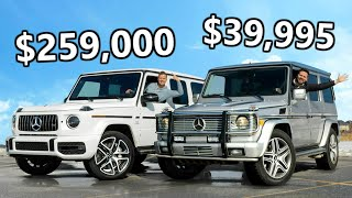 2020 Mercedes-AMG G63 vs The Cheapest AMG G-Class You Can Buy