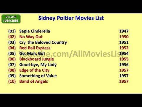 Sidney Poitier Movies List