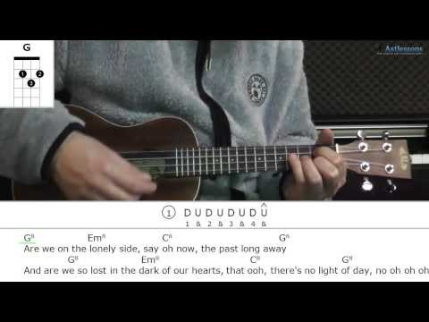 How to play Into The Wild with LP (Ukulele lesson)