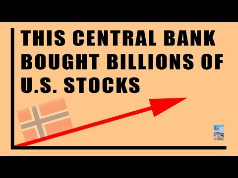THIS Central Bank Bought Billions in US Stocks and Their Fund Has Over $700 Billion in Equities!
