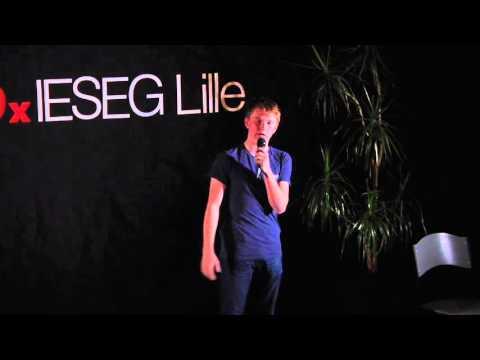 Plus jeune entrepreneur d'Europe | Jordan Casey | TEDxIESEGLille