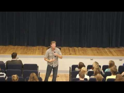 Pastor Chris Peterson Challenges Students at ACA's Secondary Chapel on October 21, 2015