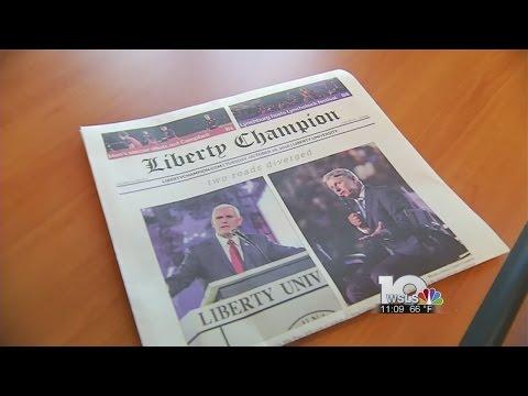 Trump Article Fallout at Liberty University