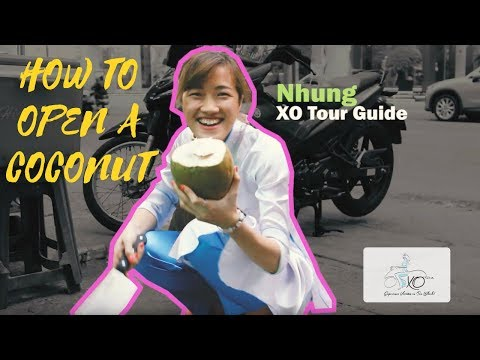 How to open a coconut by XO Tours