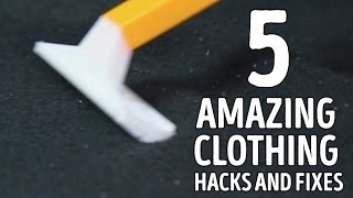 5 mind-blowing clothing hacks that will change fashion! l 5-MINUTE CRAFTS