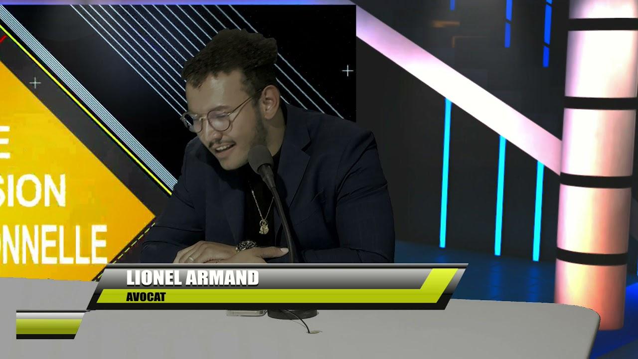 Maître Lionel ARMAND Avocat est l'invité sur ETV (1ère Partie)