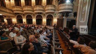 Пресс-конференция об открытии первого Качаловского театрального фестиваля