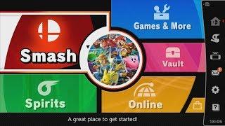 Super Smash Bros. Ultimate - Menu Features (Quick Overview)