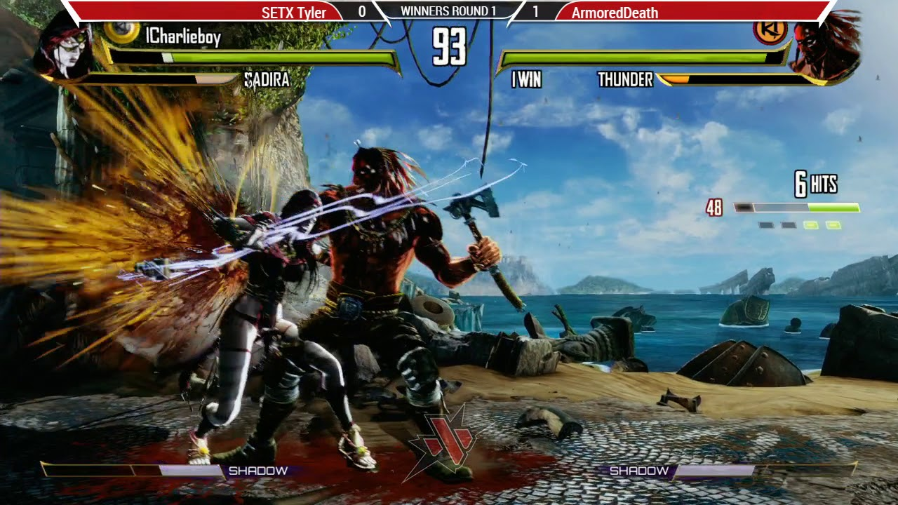 SETX Tyler VS ArmoredDeath - WR1 - Killer Instinct - Texas Showdown 2019