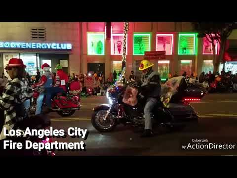 2017 Hollywood Christmas Parade