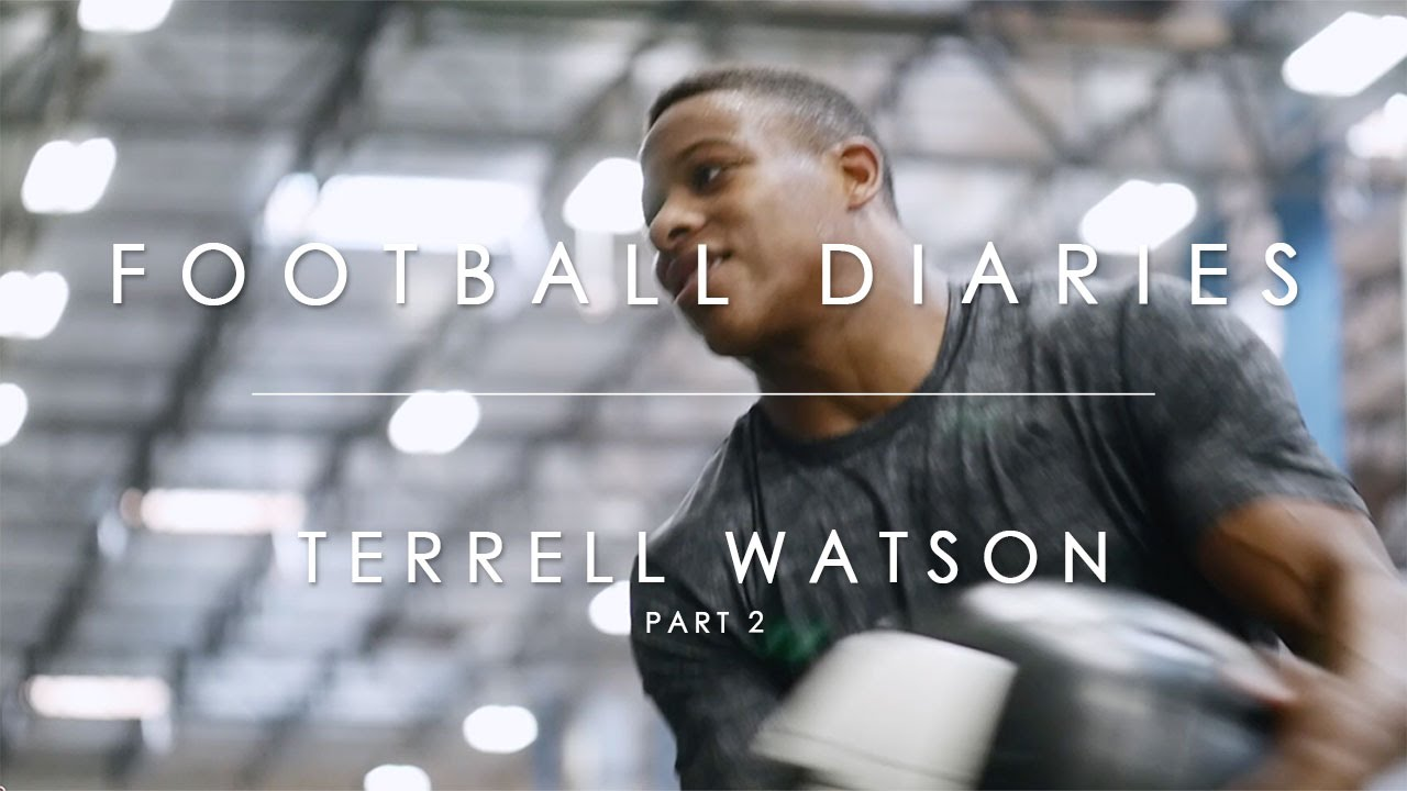 cleveland browns terrell watson shows strong work ethic