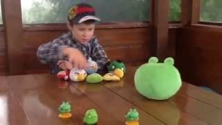 Angry birds 4D играем.Playing angry birds 4D