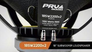 PRV Audio Brazil / 18SW2200v2 - 18