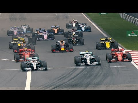 2019 Chinese Grand Prix: Chaos And Collisions At The Start