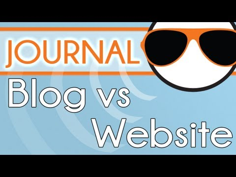 Blog Vs Website What's the difference? thumbnail