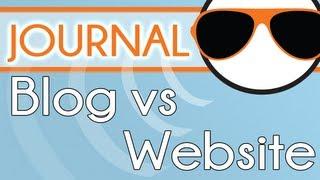 Blog Vs Website What