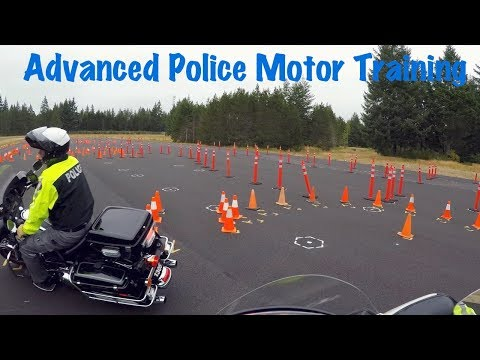 Police Advanced Motor School Training-Motorcycle Officers-Washington State Patrol Academy