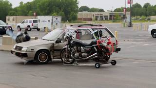 Crash course: local law enforcement and military convene for motorcycle collision training