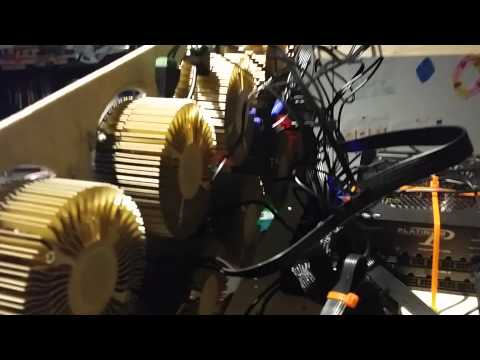 8MH Gridseed Litecoin Mining Rig!