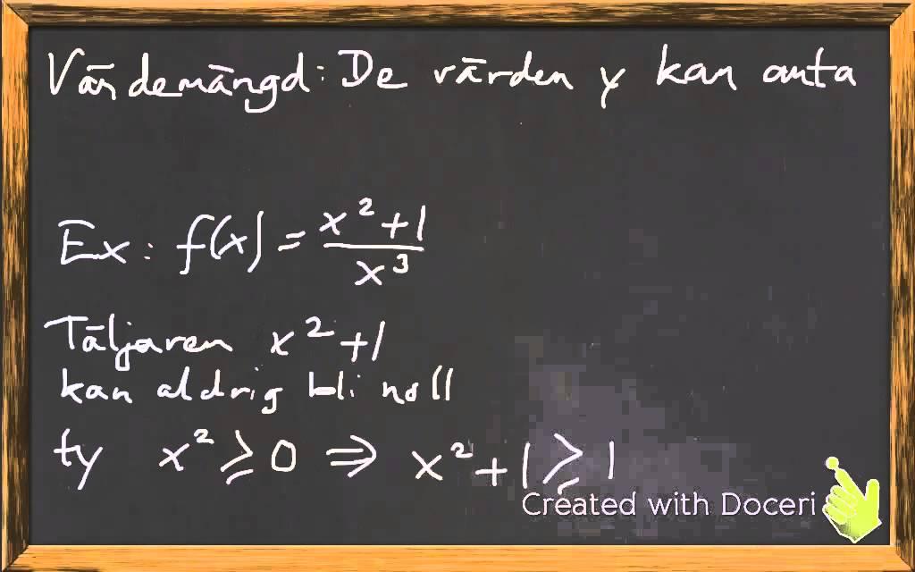 Ma 3 - Rationella funktioner
