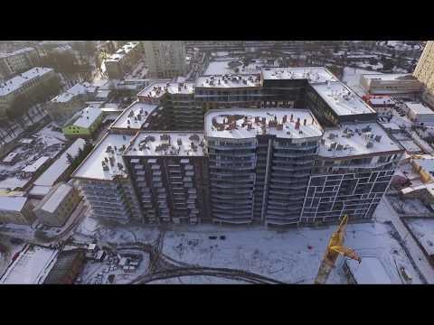 "Динаміка будівництва ЖК ""Avalon"" - січень 2018"