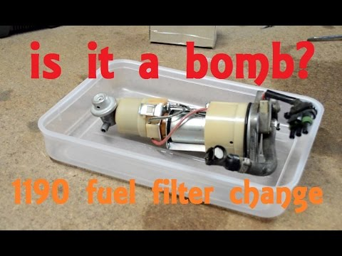 Fuel Filter change - A how to