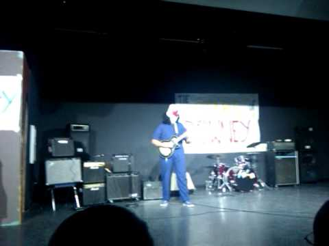 Buckethead performs Big Sur Moon at Downey High