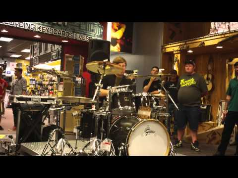 2012 15 year old Guitar Center Drum Off Solo-Matt Bover from The Dark Crusade!